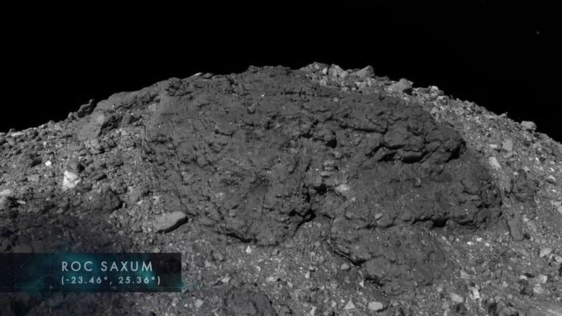 Путешествие по астероиду Бенну