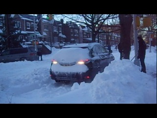 abnormal amount of snow in New York