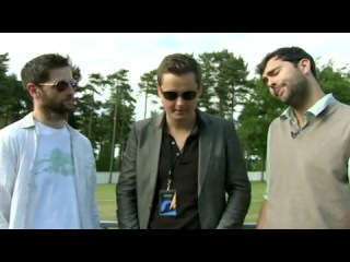KEANE Behind The Scenes Interview SfaM UK Forest Tour 2010