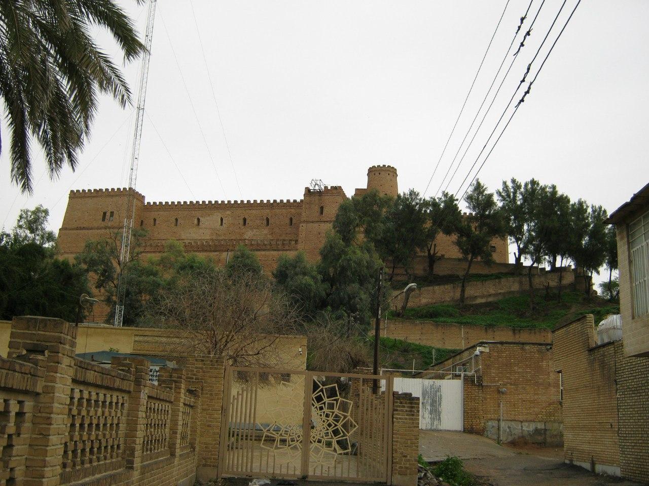 Дворец Ападана в Шуше