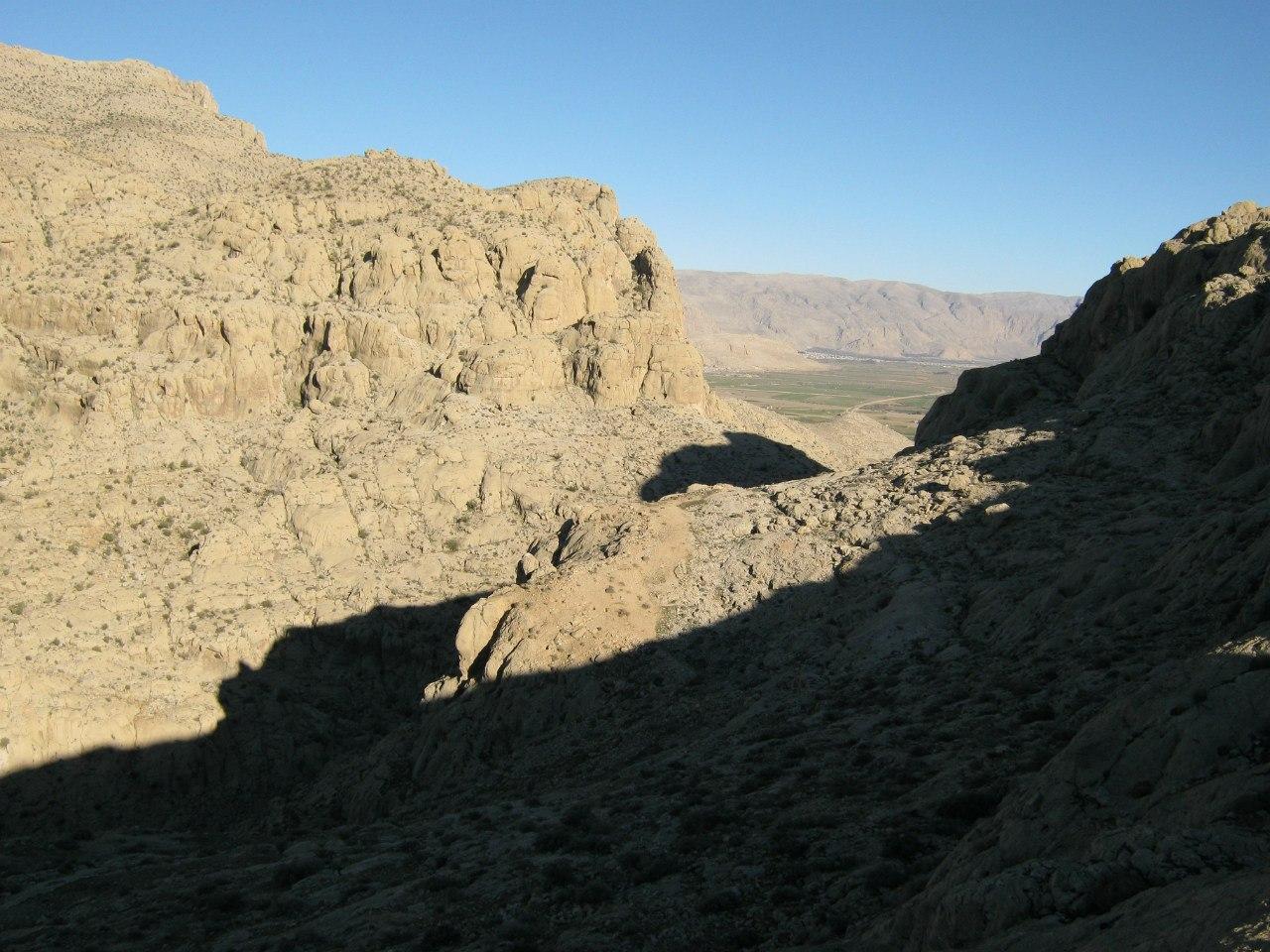 Ущелье в Накш-е Рустам