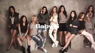 [131022]  SNSD Girls' Generation  CASIO BABY G 『少女時代』