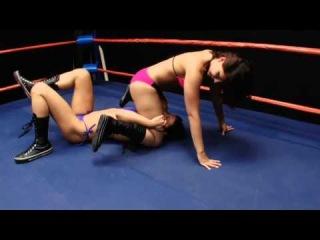 Cali Logan vs Darrius   Cali Logan Beautiful In Defeat