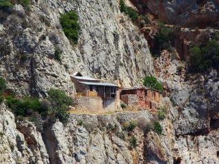 Einsiedler von Karoulia Berg Athos