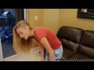 Kelly teal pooping jeans