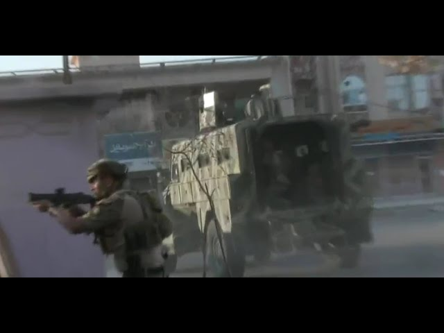 Iraq War 2016 Kurdish Special Forces Militia In Heavy Urban Clashes During ISIS Attack On Kirkuk