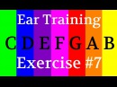 Perfect pitch Absolute pitch | Imprint notes in your brain with color | ear training intervals 7