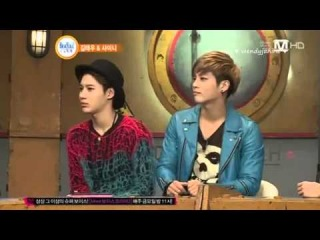 130305 Beatles Code 2 SHINee Onew angry CUT