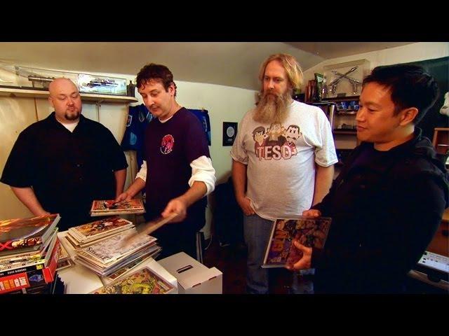 Комикснутые парни Comic Book Men 2012 Трейлер