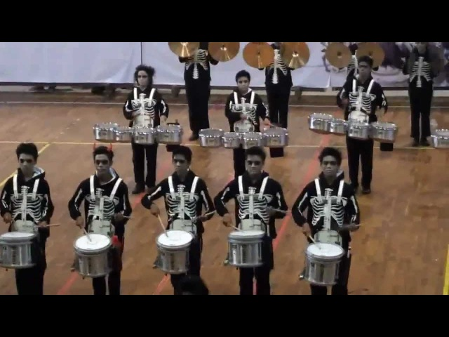 Aloysius TOP DBC The Black Parade Marching Percussion Contest BMBC III 2012 part 2