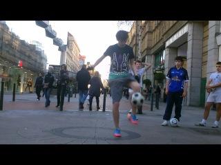 IRISH FOOTBALL FREESTYLE MEETING - JANUARY 2012