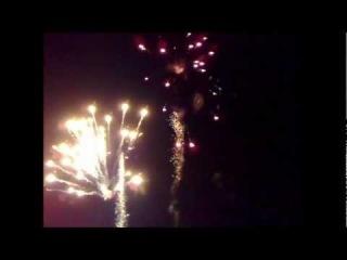 Aerial Firework, homemade.   Мой самодельный фейерверк. Камера№1wmv