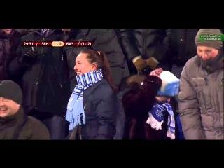Зенит 1-0 Базель (0-2)