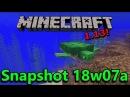 Minecraft 1 13 Snapshot 18w07a Turtles Phantoms Tridents New Water Mechanics