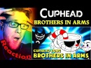 Brothers In Arms CUPHEAD Song by DAGames REACTION! | THIS IS INCREDIBLE! |