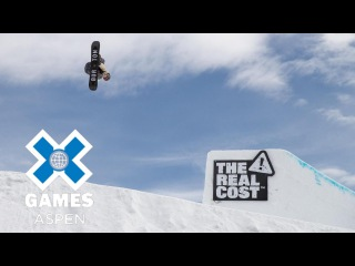 Darcy Sharpe wins Men's Snowboard Slopestyle silver | X Games Aspen 2018