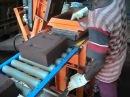 Auram Press 4000 semi automatic compressed earth block press