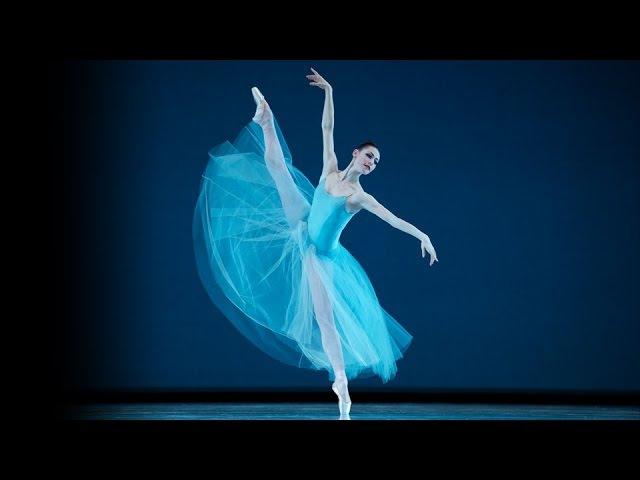 SF Ballet in Balanchine's Serenade