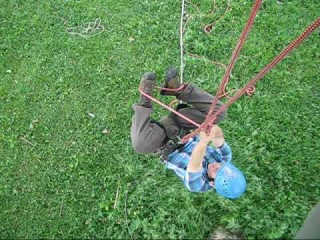 Tree Climbing: Ascending with Doubled Rope Technique