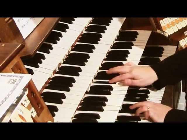 Cesar Franck Prelude Fugue et Variation op 18 played by Olena Yuryeva