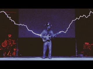 Iron Man with Musical Tesla Coils, a Robot and MIDI Guitar