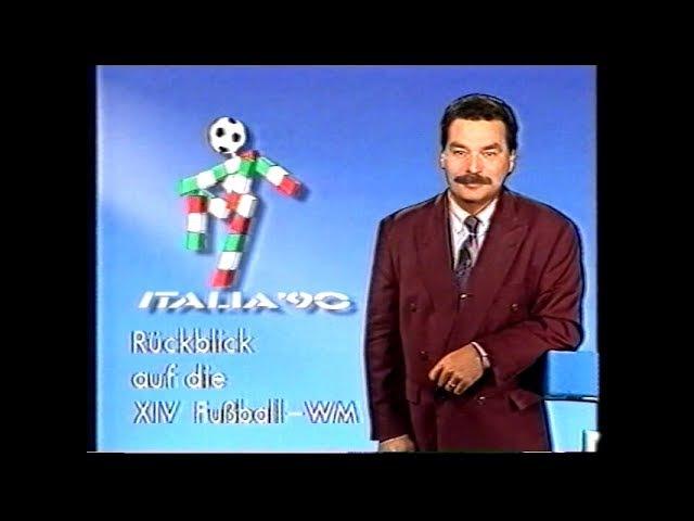 WM 1990 Zusammenfassung Rückblick ARD Sportschau YouTubeDE Version ohne GEMA Musiktitel