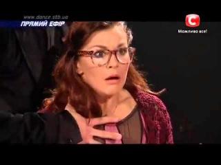 Илья Падзина и Аня Николенко - Танцуют Все 7 - Первый Прямой Эфир ()
