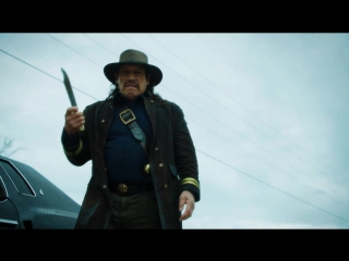 Badass danny trejo 'disarms' a lawman