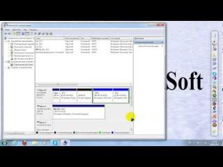 Как разбить жесткий диск без посторонней программы