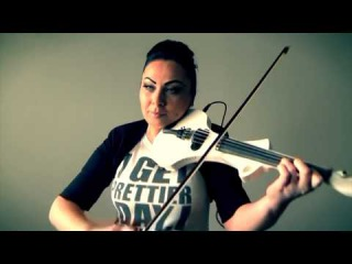 Cristina Kiseleff - Hip Hop Violin (Gojira & Liviu Vasilica - Robot Armasar Attack Violin)