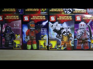 Lego Marvel SuperHeroes Guardians of the Galaxy Sheng Yuan Bootleg Review + Official Lego Comparisio