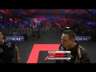 Phil Taylor vs Adrian Lewis (Sydney Darts Masters 2015 / Final)