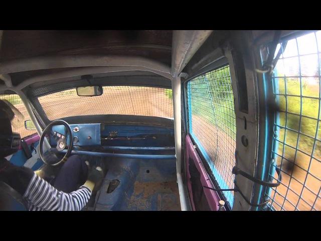 Autokross VAZ Krāslavas Kauss 19.08.14 Best moments GoPro onboard