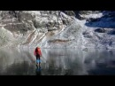 Walking on Beautiful Clean ice in Slovakian Mountains : NewEntertainment