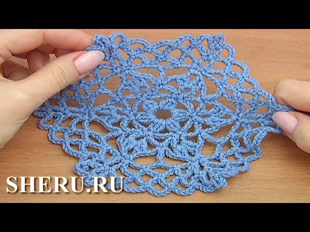 Crochet Octagon Pattern Урок 36 часть 1 из 2 Шестиугольный вязаный крючком мотив
