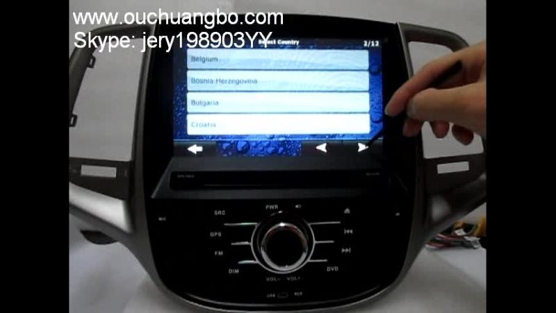 Ouchuangbo multimedia receiver tape recorder for Changan Eado
