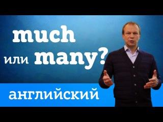 """Much или many: """"много"""" на английском. Простые правила для начинающих"""