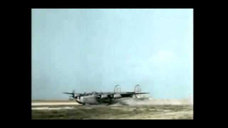 Consolidated B 24 'Liberator' Belly landings
