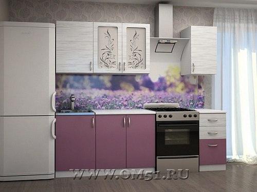 Кухня К-1.5 МДФ с мойкой