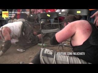 Pagano vs Masada, en el 2do aniversario de Chilanga Mask