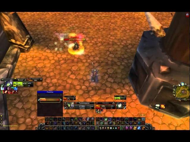Vengeful Gladiator Tuska and Boozt - World 1 SpriestRogue S3 2700 TBC [HD]