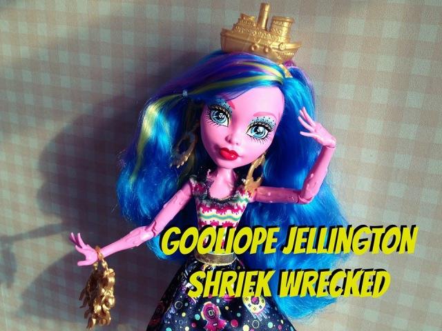 Monster High Shriek Wrecked Gooliope Jellington