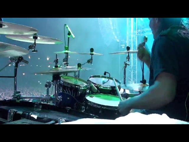 Kai Hahto Nightwish Drumcam 'Wishmaster' 20 8 2016 Himos Finland