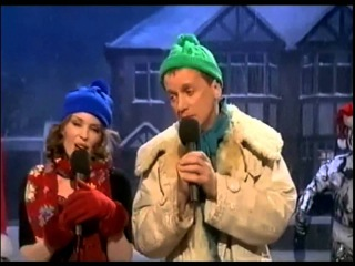 Kylie Minogue ft. Frank Skinner - It May Be Winter Outside (The Frank Skinner Show 2000)