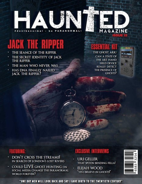 Haunted Magazine 15 - 2015 UK vk com stopthepress(1)