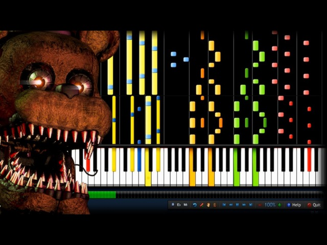 IMPOSSIBLE REMIX Break My Mind DAGames Five Nights at Freddy's 4