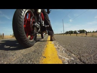 Kawasaki KZ1000 motorcycle burnout, согревающее