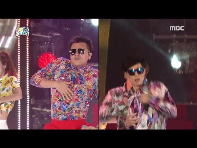 무한도전 ★섹시미 싹쓸이★ 본투비 섹시 JYP와 JSY의 미친 콜라보레이션 4582
