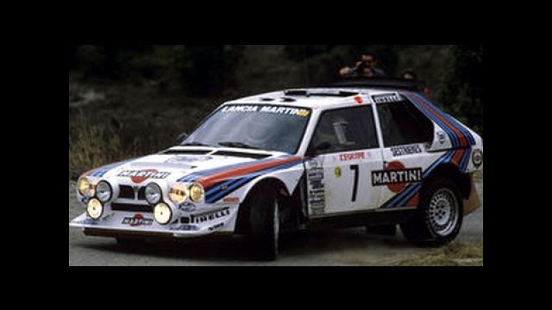 Lancia Delta S4 1000 Lakes 1986 with pure engine sounds