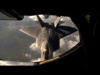 F 22 Raptor Заправка